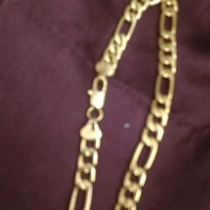 Vintage BMNY 24kf. Figaro Chain Necklace